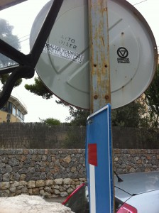 Sticker in Mallorca, Spain
